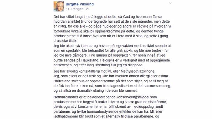 Birgitte Face