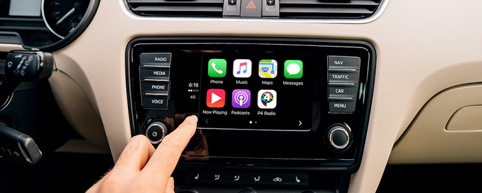 P4 Apper Apple CarPlay